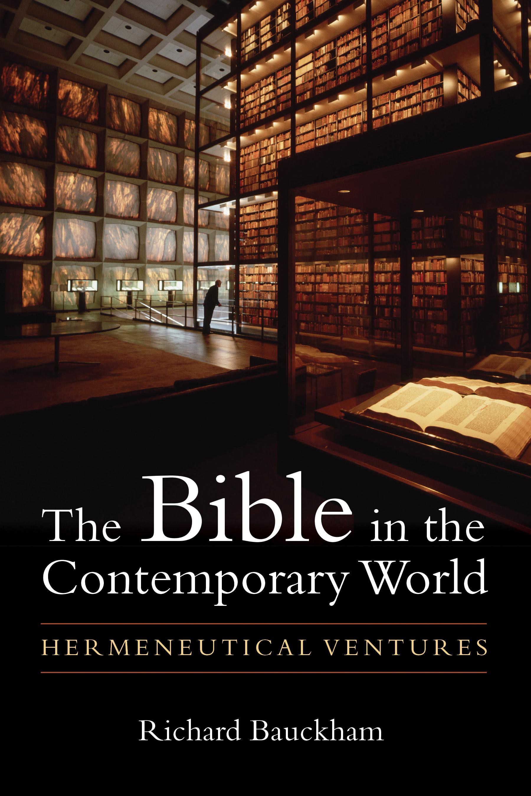 Bauckham The Bible.jpg