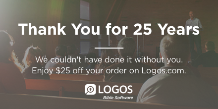 The biblioblog reference library in celebration of their 25th anniversary logos is giving out a 25 coupon code which requires no extra money spent thats pretty generous fandeluxe Images