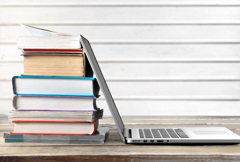 Book, school, paper.